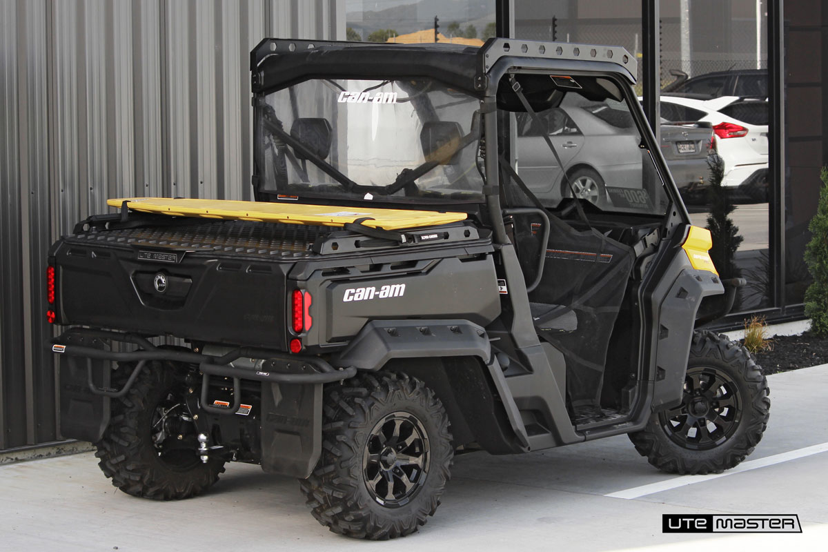 Utemaster Hard Lid to suit Can Am HD8_Tough Cover
