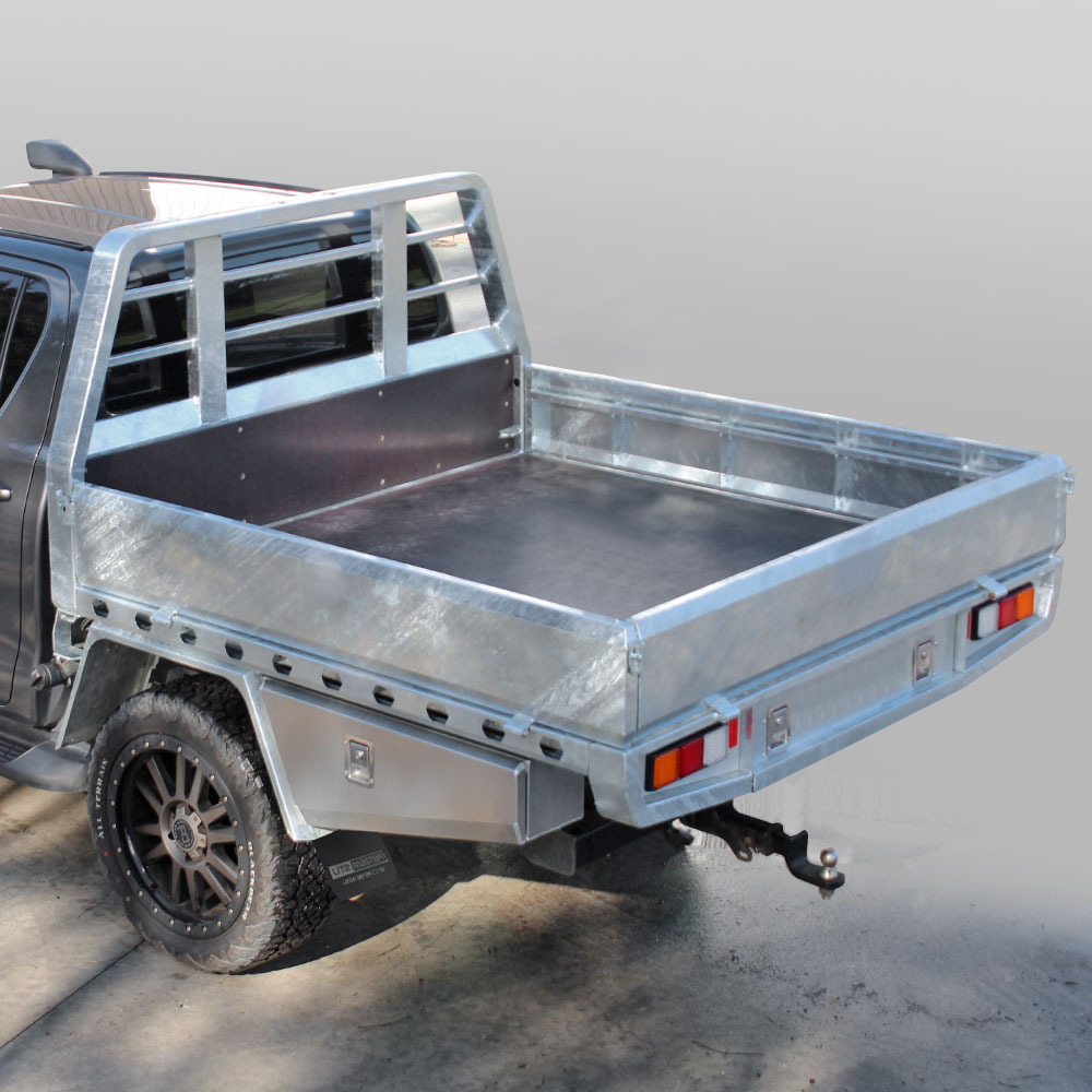 Utemaster Steel Flat Deck Commercial Fleet Ute Tray Icon