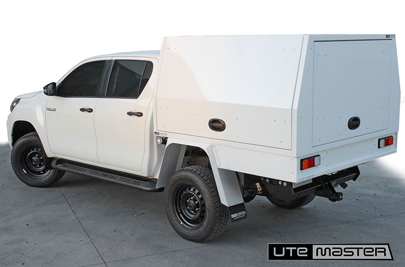 Cab Double Cab Ute Commercial Box Body Fitout Toyota Hilux