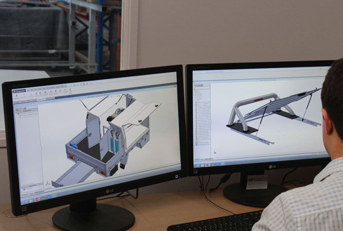 Our Process 4 Utemaster new product development CAD